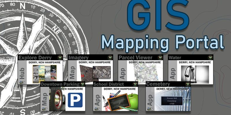 Explore the Derry GIS Mapping Portal